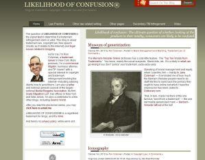 LIKELIHOOD OF CONFUSION® - The Blog