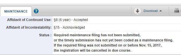 LIKELIHOOD OF CONFUSION trademark registration