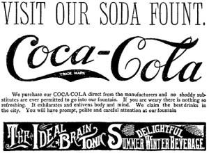 Coca-Cola The Ideal Brain Tonic