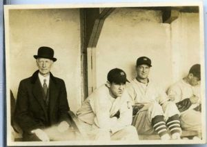 connie-mack-in-the-dugout