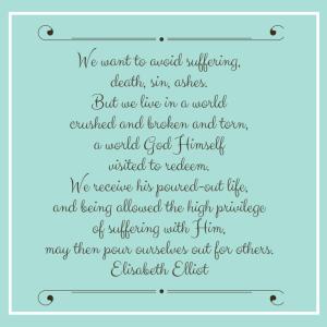 Elisabeth Elliot Quote Like Minded Musings