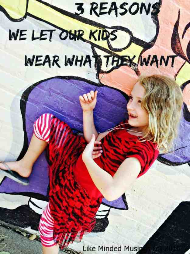 Like Minded Musings Kids Choose What To Wear Image