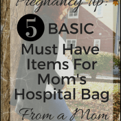 Must Have Items For Mom's Hospital Bag Like Minded Musings