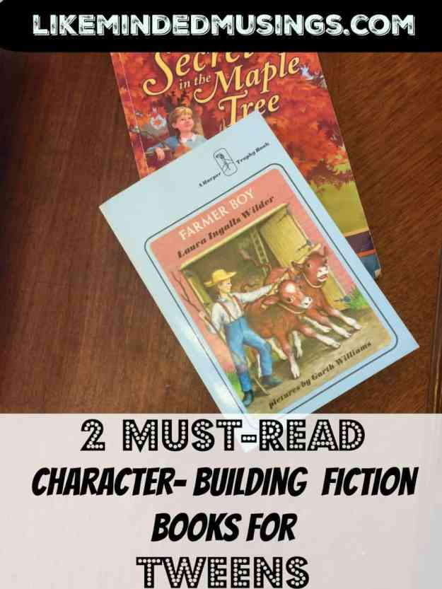 2 must read character building books for tweens