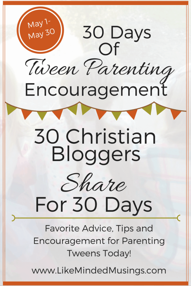 Tween Parenting Blog Party Graphic Standard Like Minded Musings