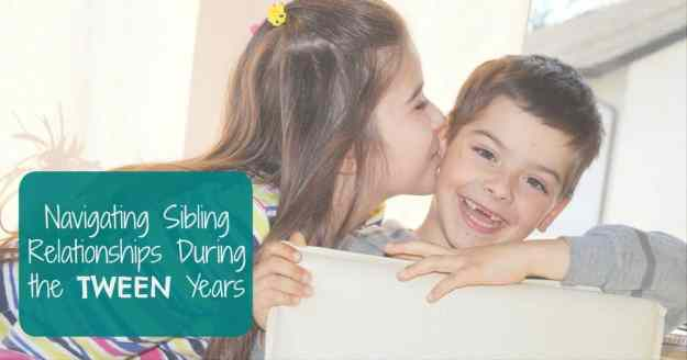 How to Navigate Sibling Relationships in the Tween Years