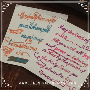 Trust in the Lord Bible Journaling Kit Like Minded Musings