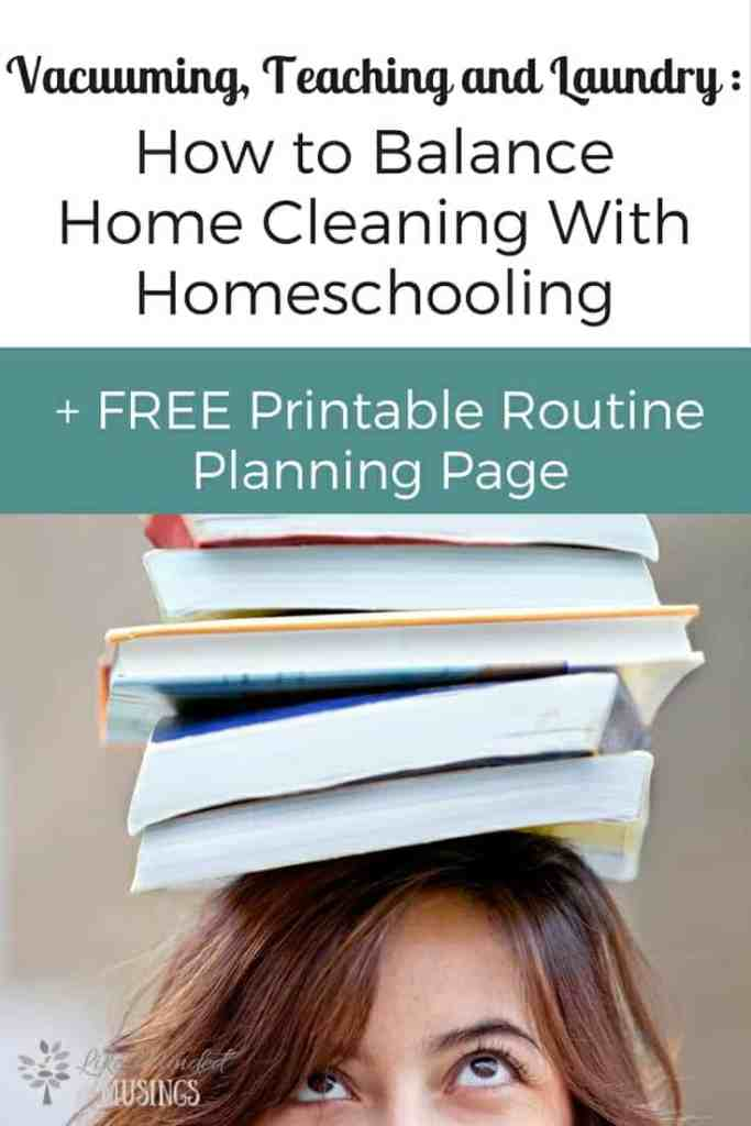 Vacuuming, Teaching and Laundry Homeschooling and Home Cleaning Like Minded Musings