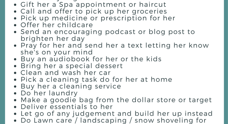 30 Random Acts of Kindness For the Special Needs Mom {Guest Post}
