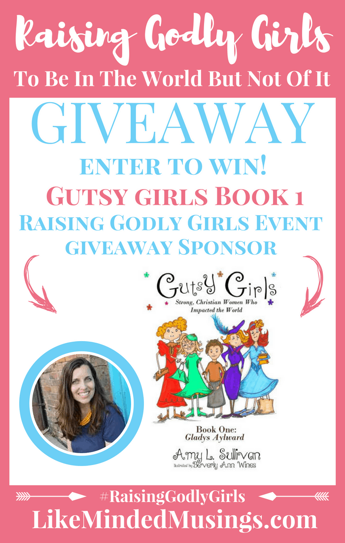 Giveaway Gutsy Girls Like Minded Musings