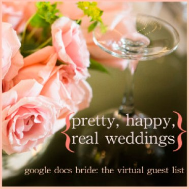 google docs bride: the virtual guest list