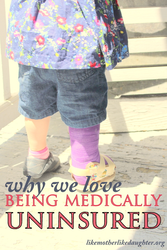 Why We Love being Medically Uninsured from Like Mother, Like Daughter