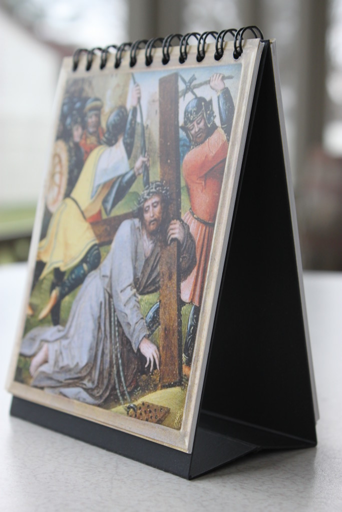Rosary flip book