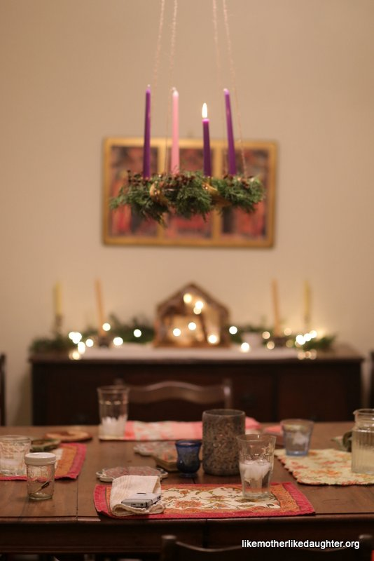 Living Advent at Our House