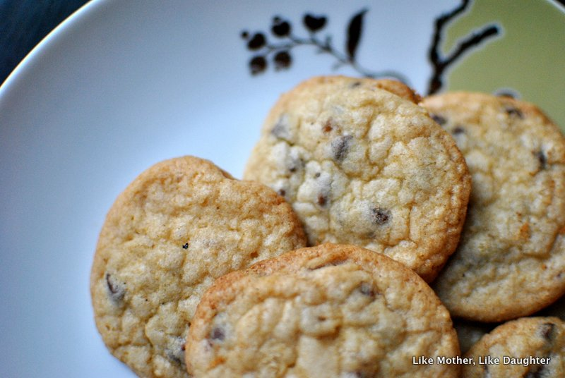 Crystallized ginger chocolate chip sugar cookies ~ Like Mother, Like Daughter 8