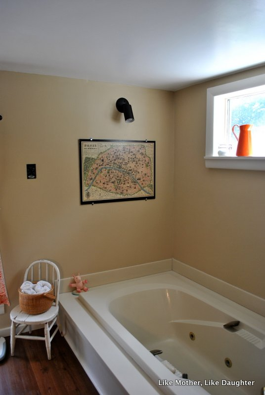 Almond Bathroom Fixtures Make Makeover