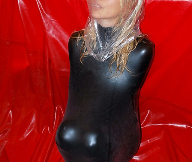 Asphyxiation Bondage Latex Cocoon