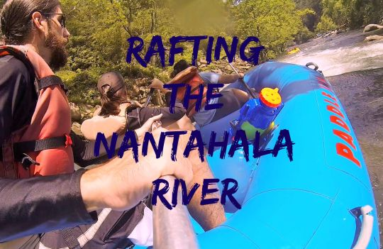 Unguided whitewater rafting trip with class II and III rapids. Good family fun!