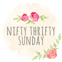 The Nifty Thrifty sunday is a link party where you can add a post on any topic, just try and check out the link above yours and spread a little comment love to your fellow bloggers!