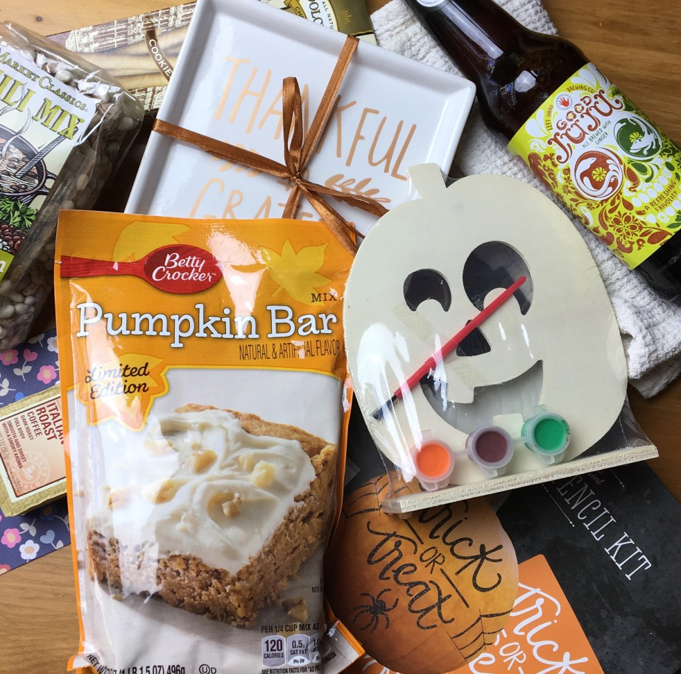 I participated in a blogger box swap for Fall, and it was so much fun! #SPBoxSwap