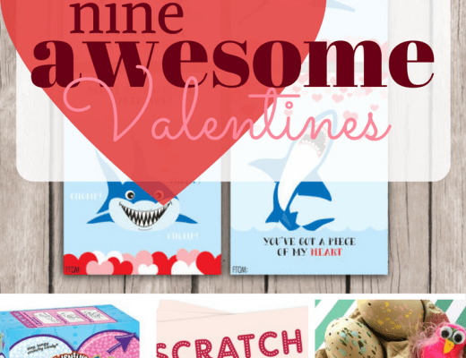 A list of nine 5th grader approved Valentines. From store bought to DIY, this list of Valentine's Day Cards is sure to have your child's favorite.