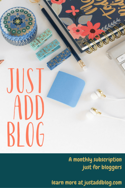 I wanted a subscription box for bloggers but I couldn't find one, so I made my own.