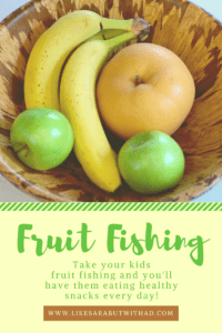Take your kids Fruit Fishing and have them eating healthy snacks everyday!