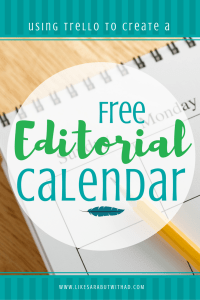 Using Trello is a great way to create an amazing, dynamic editorial calendar that is FREE! Yep. Freeeeeeee!