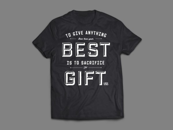 Wind Magazine T-shirts. Prefontaine Quote Mens Tee
