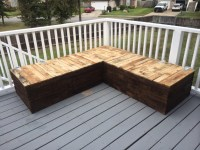 DIY: Pallet Sectional for Outdoor Furniture - Like The Yogurt