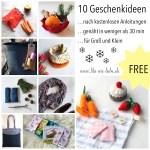 Weihnachtsgeschenke Nahen 10 Tipps Fur Kostenlose Anleitungen Unter 30min Lila Wie Liebe