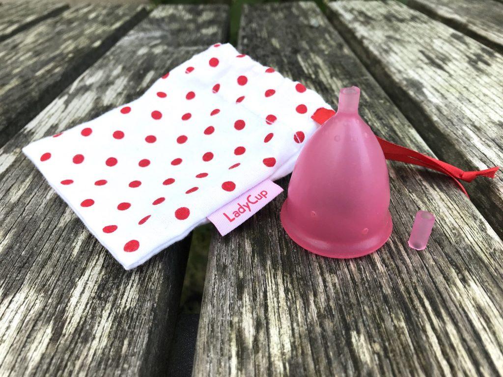 Menstruationskappe Test
