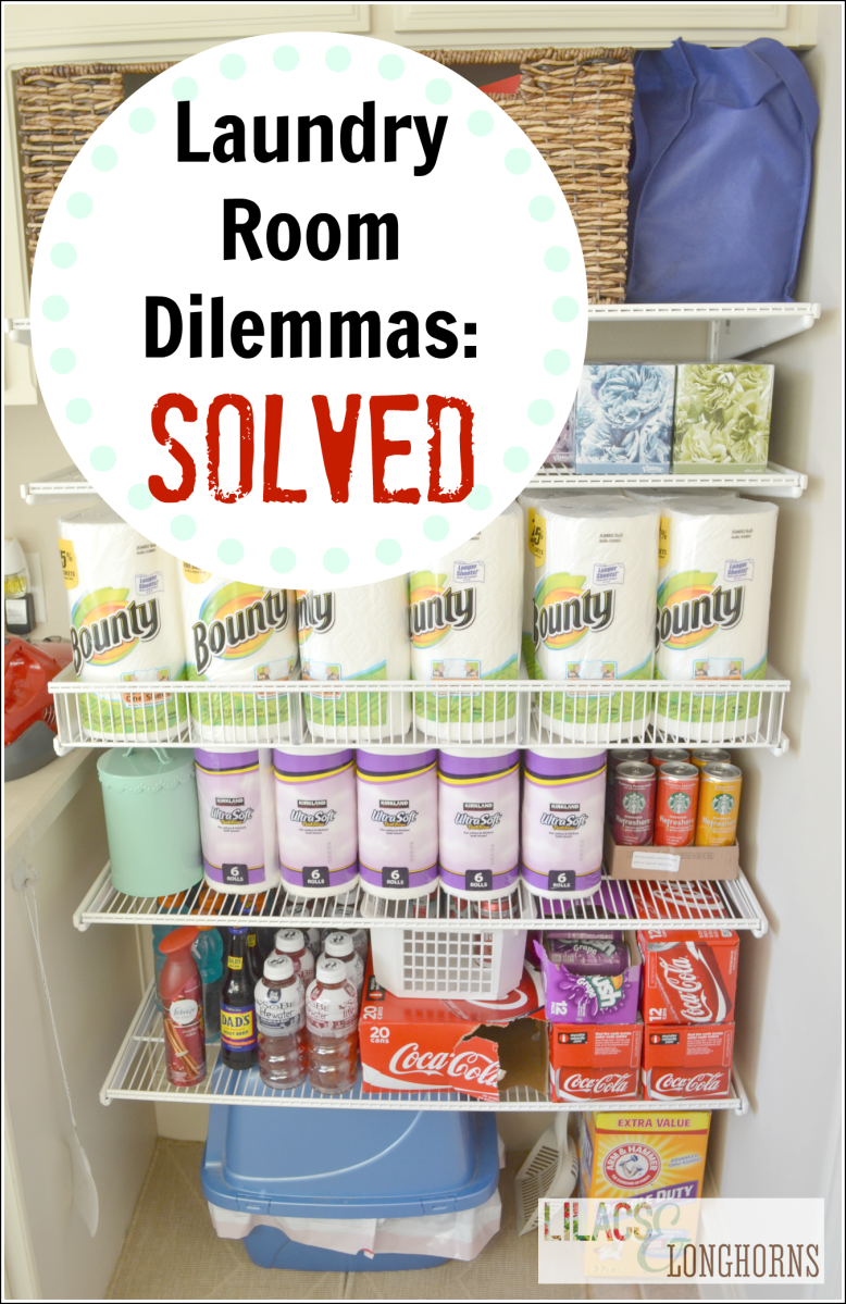 My Laundry Room Storage Dilemmas: Solved!