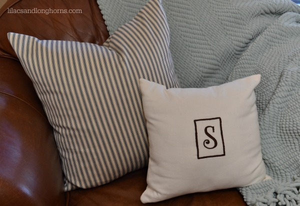The Easiest Way to Sew a Pillow