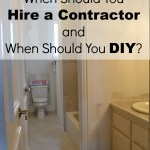 when to hire a contractor