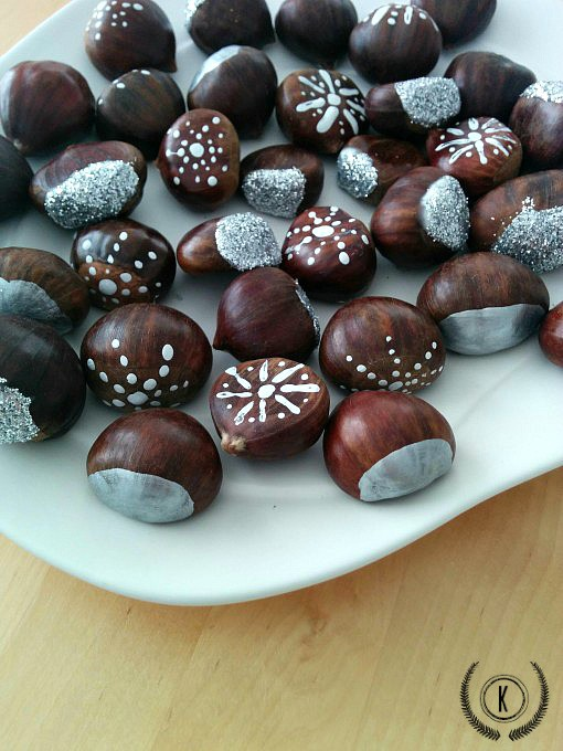 Painted Chestnuts by Kreativ K