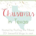 Christmas in Texas blog tour