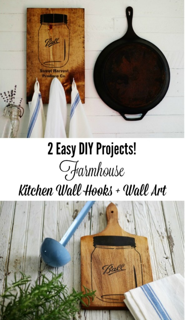 2-easy-kitchen-projects-with-mason-jars-stencils-Knick-of-Time