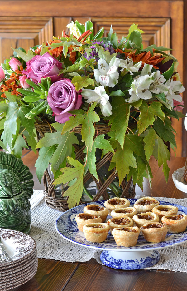fall-floral-and-pecan-tarts