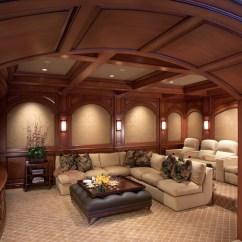 Certified Kitchen Designer Ceramic Tile For Home Theater, Malibu Manor, Malibu, California