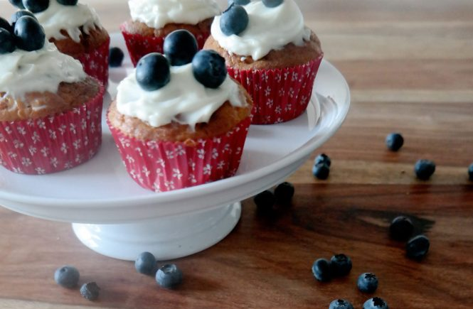 Carrot Muffins mit Frosting