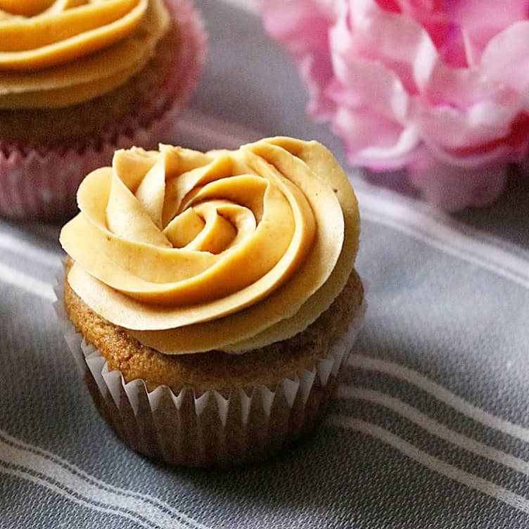 SCD Frosted Peanut Butter Cupcakes