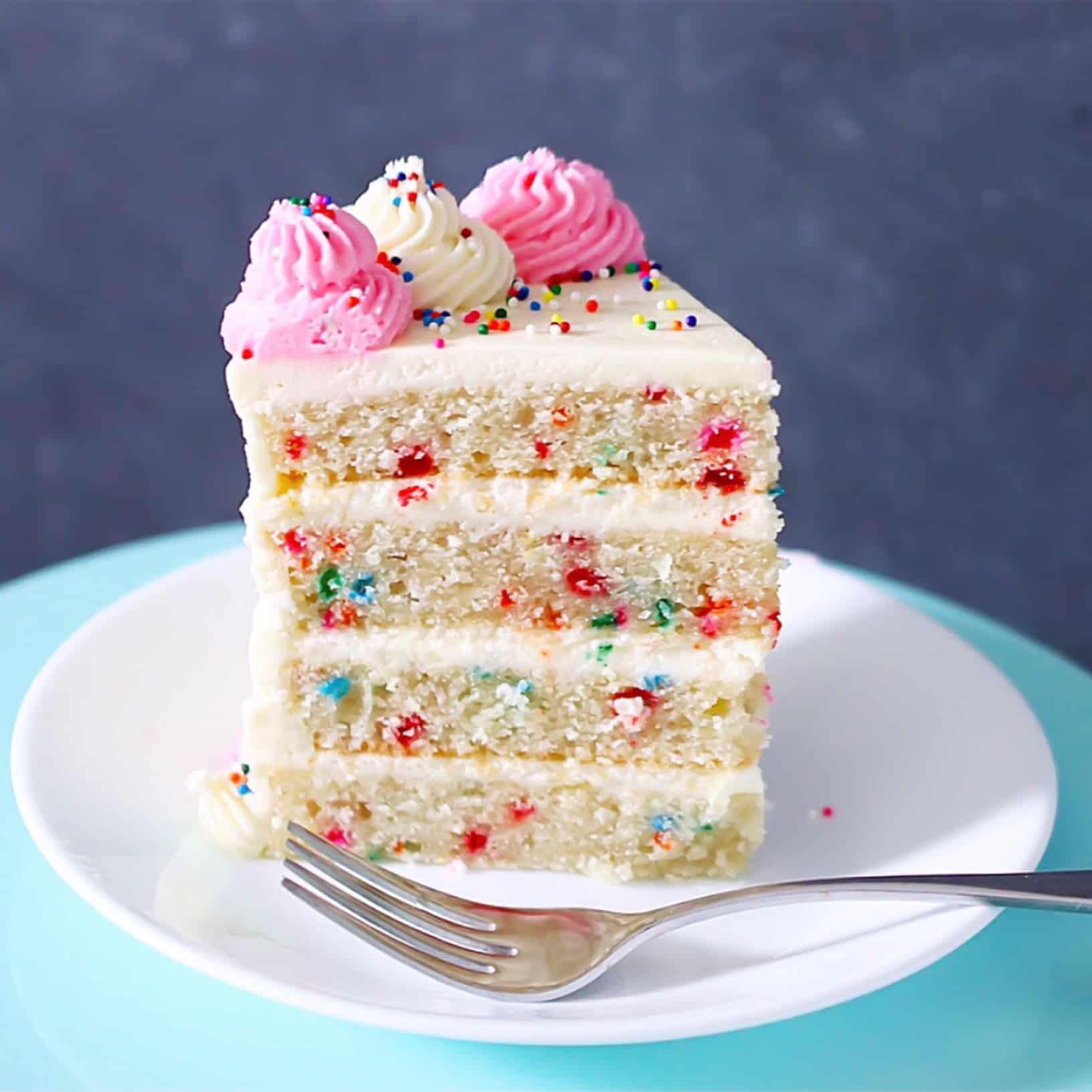 GrainFree Funfetti Cake Lila Ruth Grain Free