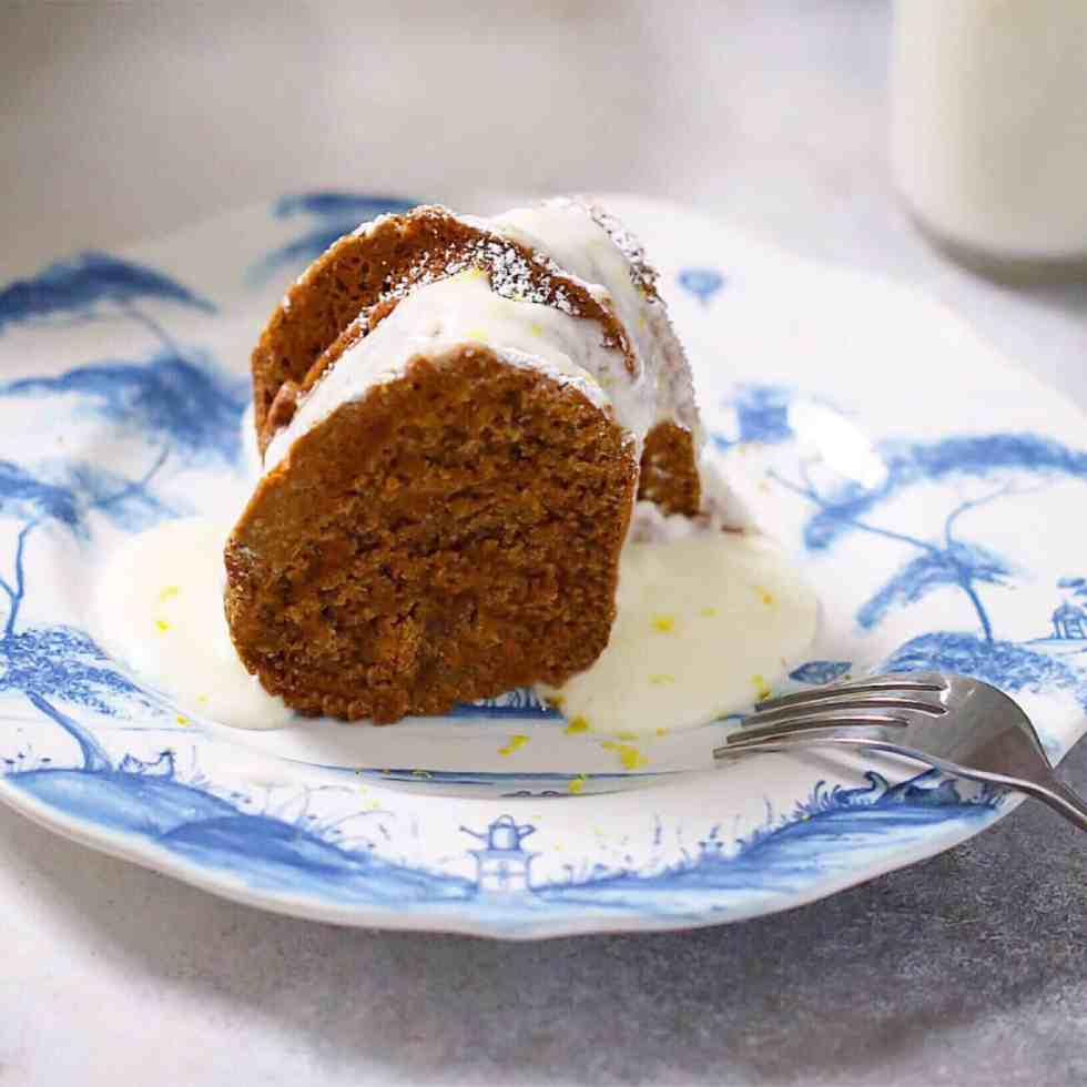 Grain-Free Molasses Cake 1