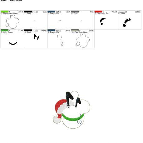 Pluto-Mouse-Ornament 4×4