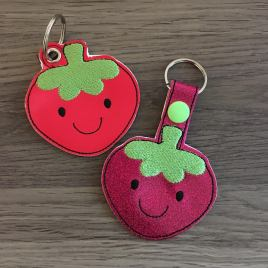 ITH – Kawaii Strawberry Fobs 4×4 and 5×7 Grouped