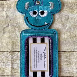 ITH – Best Friend Silly Monster ID Holder 5×7 only