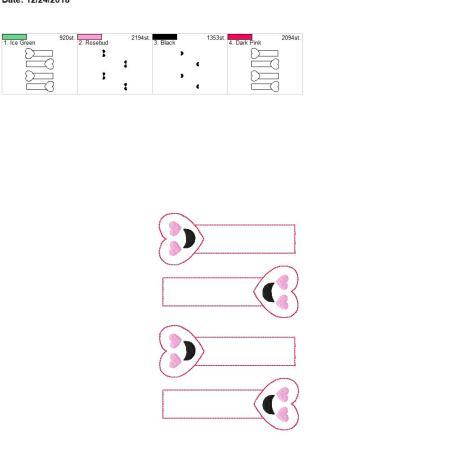 Heart Eyes Bookmark 5×7 grouped – Copy