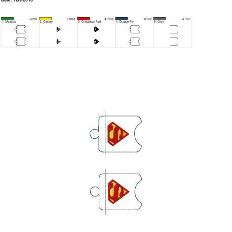 Super Hero Sanitizer Holder eyelet 5×7 grouped