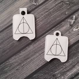 ITH Wizard Triangle Sanitizer Holder 4×4 and 5×7 included- Embroidery Design – DIGITAL Embroidery DESIGN